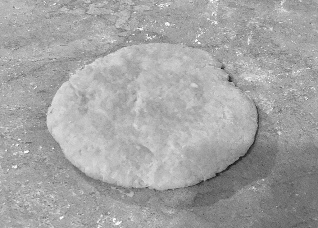 2. Flatten into a general disc shape
